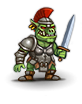female Orc chieftain