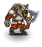 Gnoll chieftain