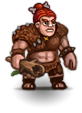 female Hill giant chieftain