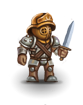 Grizzled gladiator